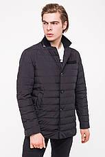 Мужская демисезонная куртка CLASNA CW18MC040 - синяя, фото 2