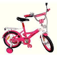Велосипед 2-х колесный 14'' 171431 розовый