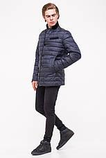 Мужская демисезонная куртка CLASNA CW18MC040 - синяя, фото 3