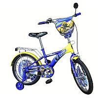 Велосипед 2-х колесный 16'' 171610 синий