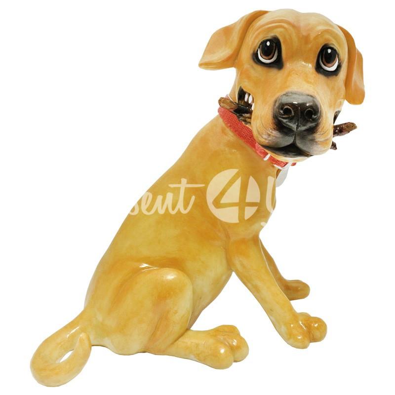 Фигурка-статуэтка коллекционная с керамики, Англия,собачка «Оли», h-20 см