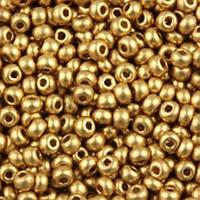 Бисер 01710 Preсiosa (Чехия) золото металл 25г
