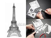 Металлический 3D конструктор Эйфелева башня, фото 1