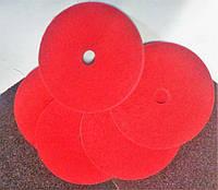Вспененный круг полировальный 150*20*22 нетканный волокнистый абразив Р120 красный