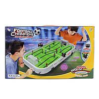 Футбол CH2122 (12шт) на штангах, поле 52,5-28,5см, в кор-ке, 59-35,5-8см