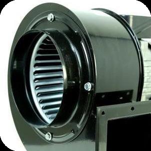 Корпус вентилятора Bahcivan OBR 200 T-2K с оцинкованной крыльчаткой