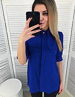 Женская модная удлиненная блуза (2 цвета), фото 1