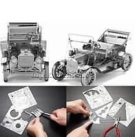 Металлический 3D конструктор ретро Форд, фото 1
