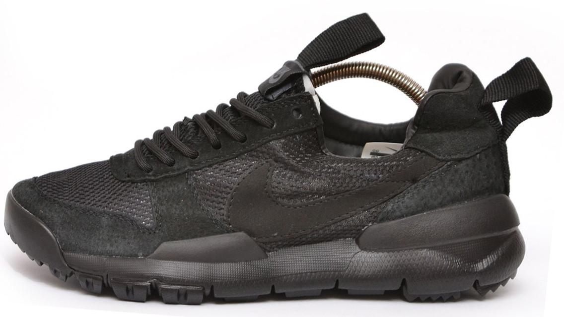 Мужские кроссовки Nike Tom Sachs' Mars Yard  (Найк) черные
