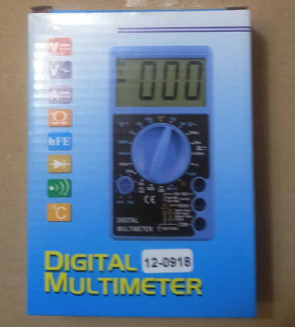 Цифровой мультиметр (DT700C) со звуком + температура, фото 2