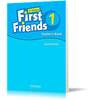 Книга для учителя First Friends 1 второе издание, Susan Iannuzzi | Oxford