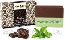 VAADI Мыло соблазнительное с шоколадом и мятой 75 гр. (Индия)