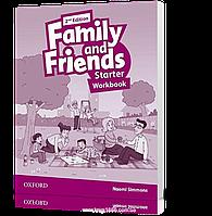 Рабочая тетрадь Family and Friends Starter второе издание, Naomi Simmons | Oxford