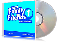 Аудио-диск Family and Friends 1 второе издание, Naomi Simmons | Oxford