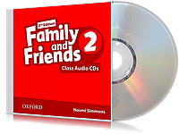 Аудио-диск Family and Friends 2 второе издание, Naomi Simmons | Oxford