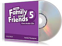 Аудио-диск Family and Friends 5 второе издание, Tamzin Thompson | Oxford