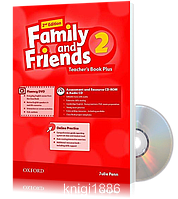 Книга для учителя Family and Friends 2 второе издание, Julie Penn | Oxford