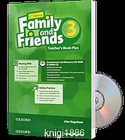 Книга для учителя Family and Friends 3 второе издание, Alex Raynham | Oxford