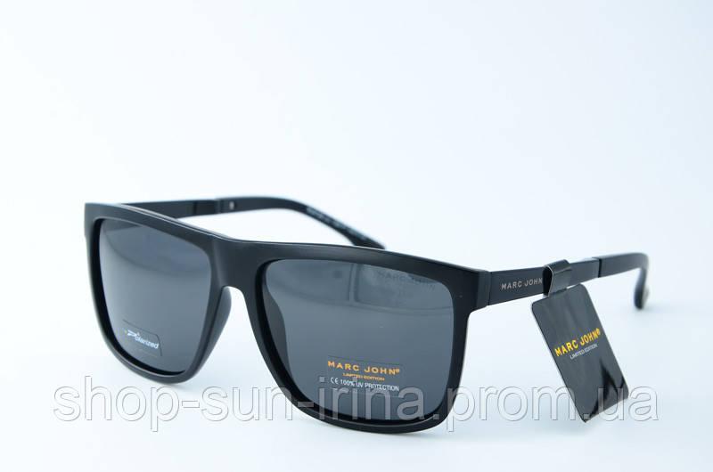 Солнцезащитные очки Marc John прямоугольные черные, цена 649 грн ... a1ff7974227