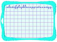 Детская двусторонняя доска для письма и рисования маркерами