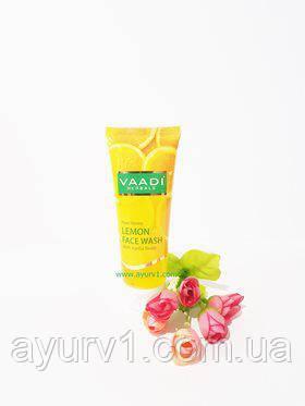 VAADI Гель для умывания с мёдом, лимоном и жожоба 60 мл. (Индия)