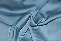 Голубой пастельный.Ткань шелк армани (плотный цвет), фото 1