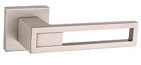 Дверная ручка  Tupai BURACO 1 2737 Q никель матовый