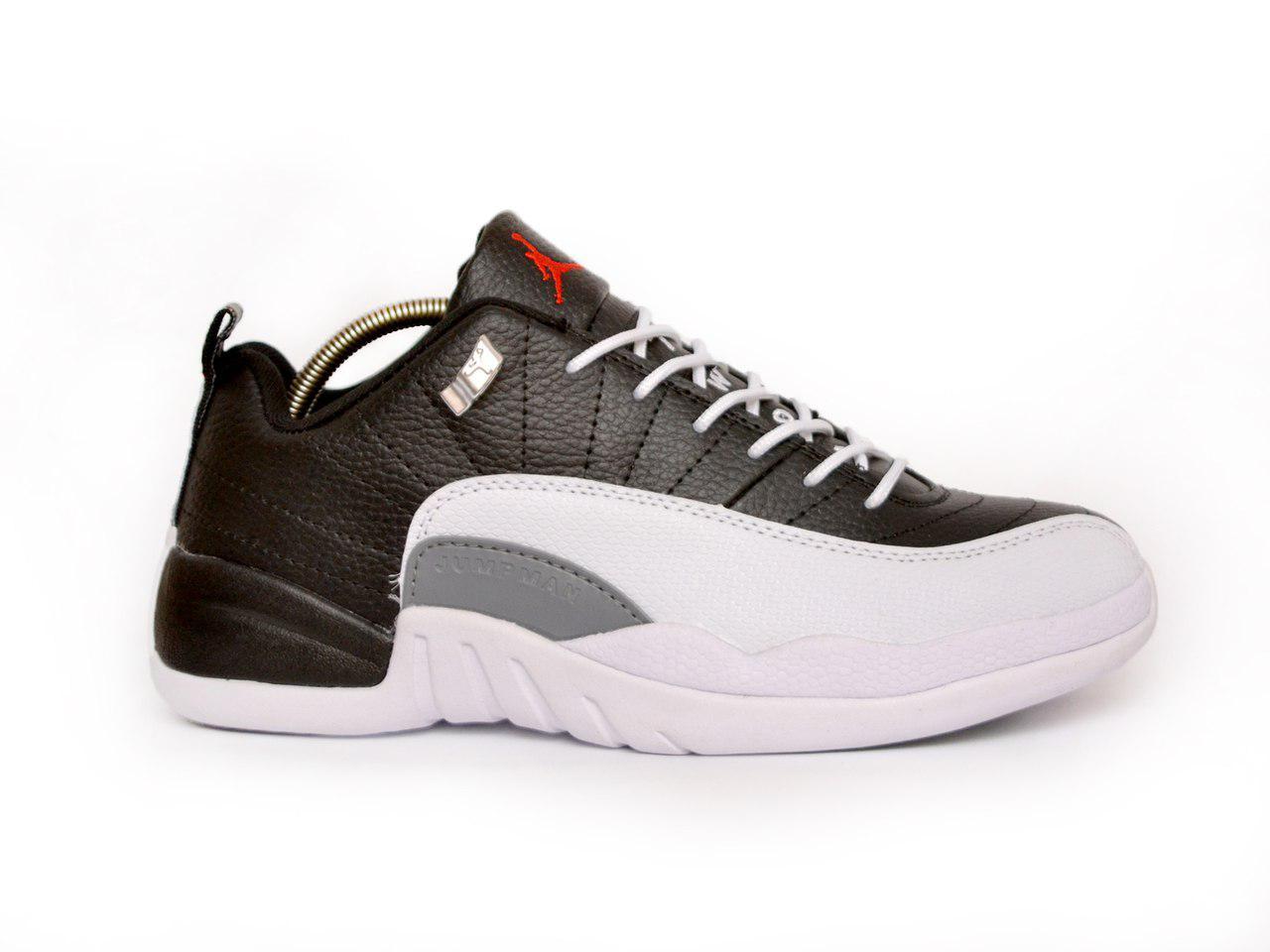 f29a22db614e Мужские баскетбольные кроссовки Air Jordan 12 RETRO LOW (в стиле Найк Аир  Джордан) черно