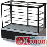 Холодильная витрина ВХСв - 1,3д Carboma Сube Люкс (KC70 VV 1,3-1)