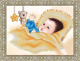 """Схема для вышивки бисером """"Малыш"""" К-3070"""