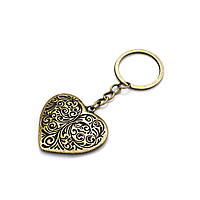 Брелок в кельтском стиле Сердце покрытие бронза