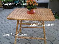 Стол из лозы плетеный, фото 1