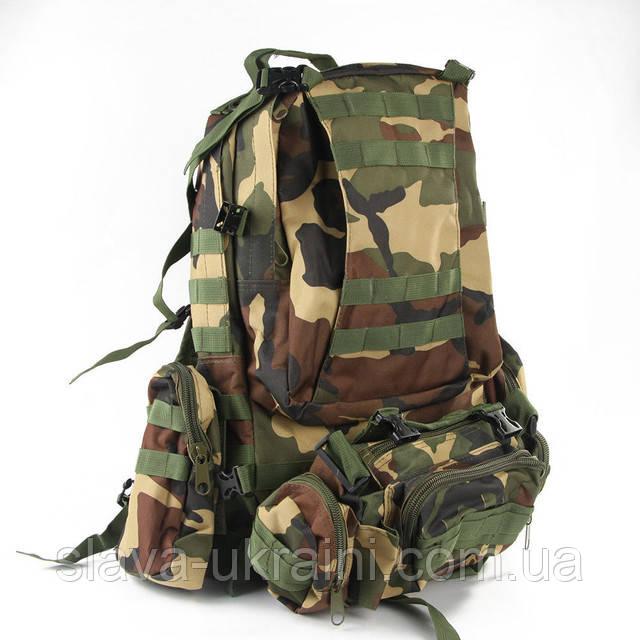 тактический военный рюкзак 40 литров