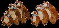 """Мишка с """"Маша и Медведь"""" 75 см"""