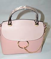 Модная сумка-клатч,весенняя коллекция в розовом цвете.