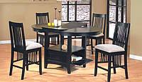 Барный стол, B4866-PPB, цвет темный орех. Барные столы для кухни.