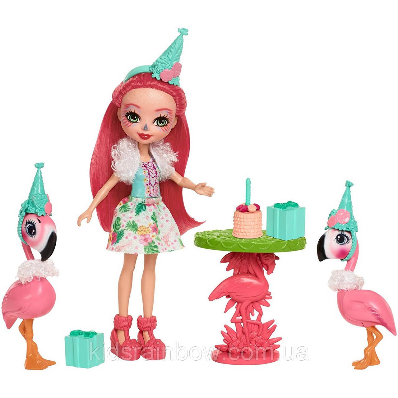 Набор Развлечения на природе Праздник Фламинго Enchantimals