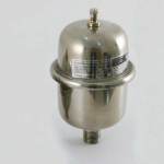 """розширювальний бак Zilmet Inox-Рro Z 18 ∅270 ↑349мм  max 10 bar, 1""""G inox"""