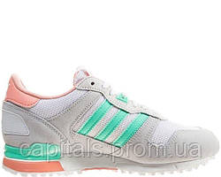 "Женские кроссовки Adidas ZX 700 ""Grey/Turquoise"""