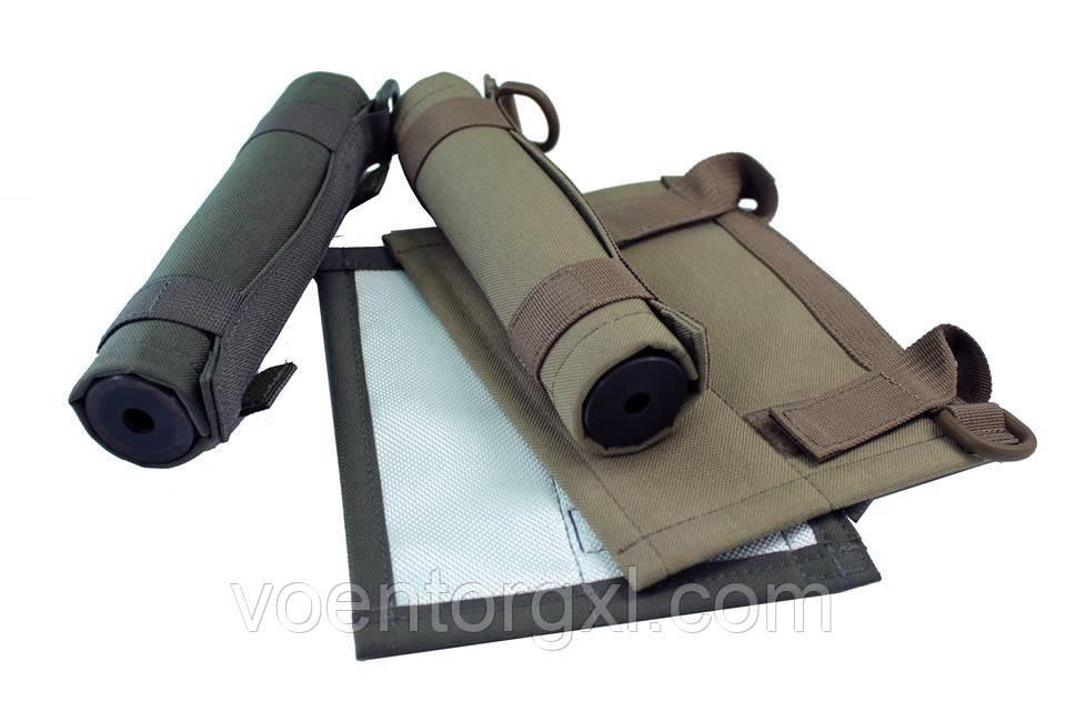 Чохол Steel, для глушників в габаритах 200х38 мм