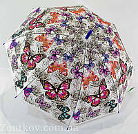 """Зонтик трость с бабочками от фирмы """"Swifts"""", фото 1"""