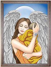 """Схема для вышивки бисером """"Моя мама-ангел!"""" К-3086"""