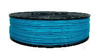 CoPET (PETg) пластик для 3D печати,1.75 мм, 0.75 кг 0.75 кг, бирюзовый