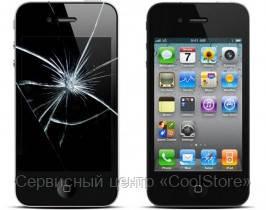 Замена дисплея с сенсорным стеклом iPhone 4 в Донецке