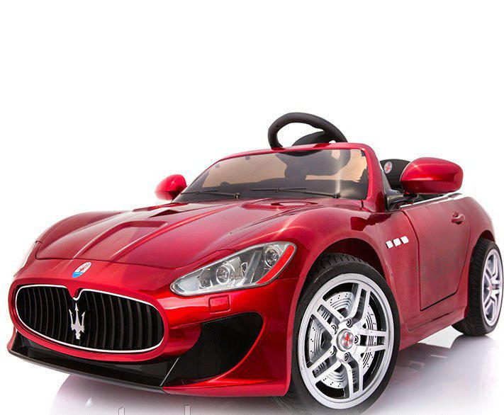 Детский электромобиль Maserati FT-6388 (вишневый)