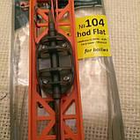 #104 Карповый монтаж Method Flat вес 60 грамм.2 крючка (Метод Флэт), фото 3