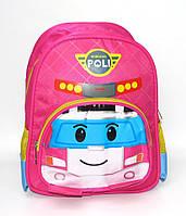 Дошкольный детский рюкзачек POLI розовый