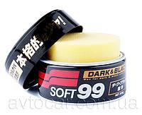 Твердый воск Soft99 Dark & Black Wax для темных цветов