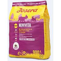 Josera MiniVita сухий корм зі смачним лососем для собак з 8-ми річного віку Йозера МініВіта