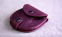 """Шкіряний гаманець """"Grapes"""", ручної роботи, натуральна шкіра, жіночий гаманець"""